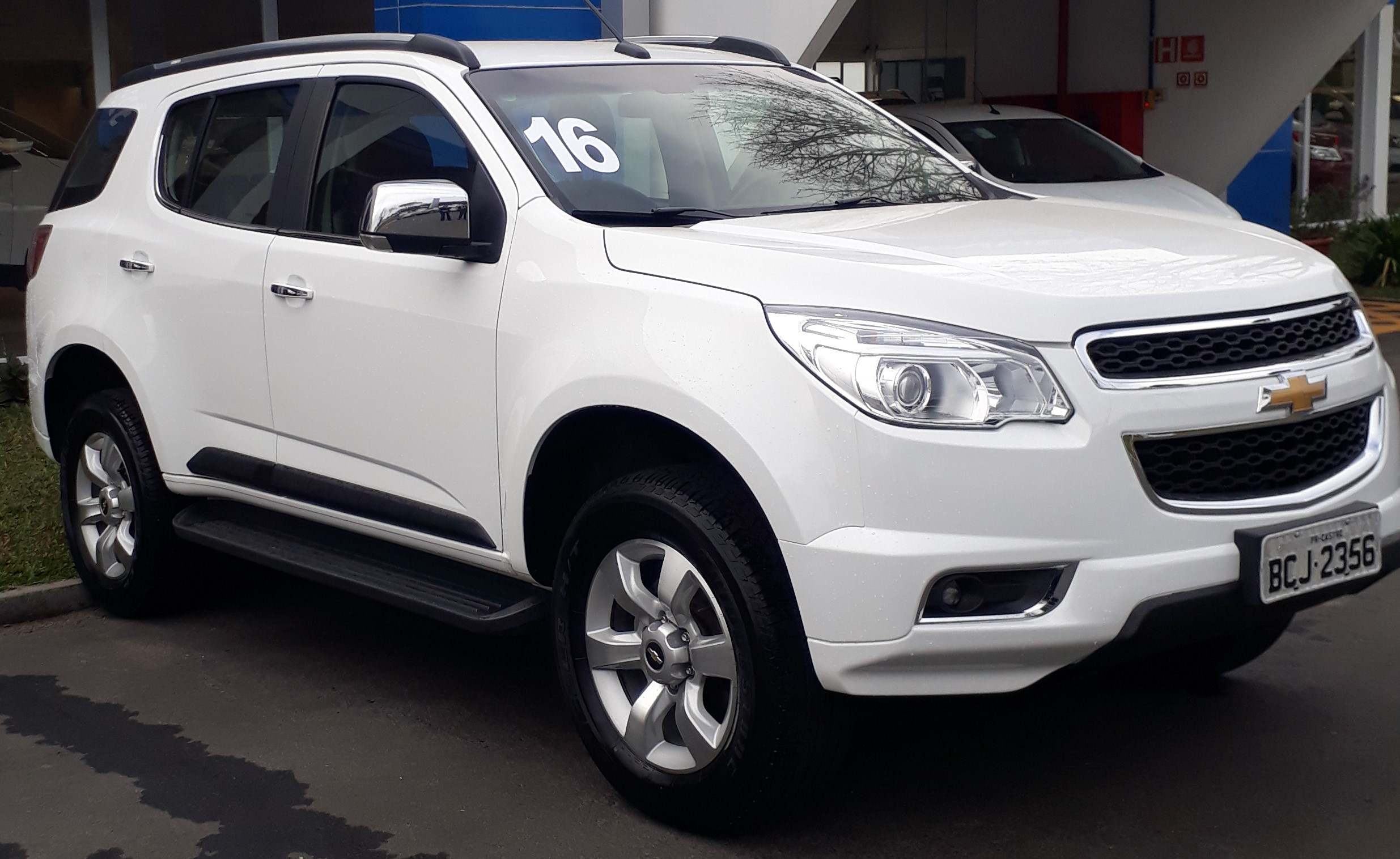 CHEVROLET TRAILBLAZER LTZ 3.6 2016