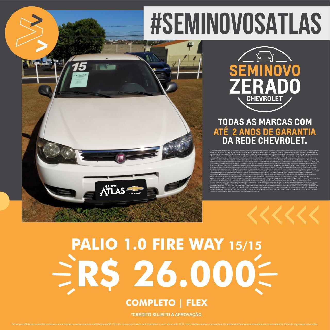FIAT PALIO FITE WAY 1.0 2015