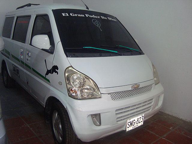 2013 CHEVROLET N300 PASAJEROS PASAJEROS 1,2