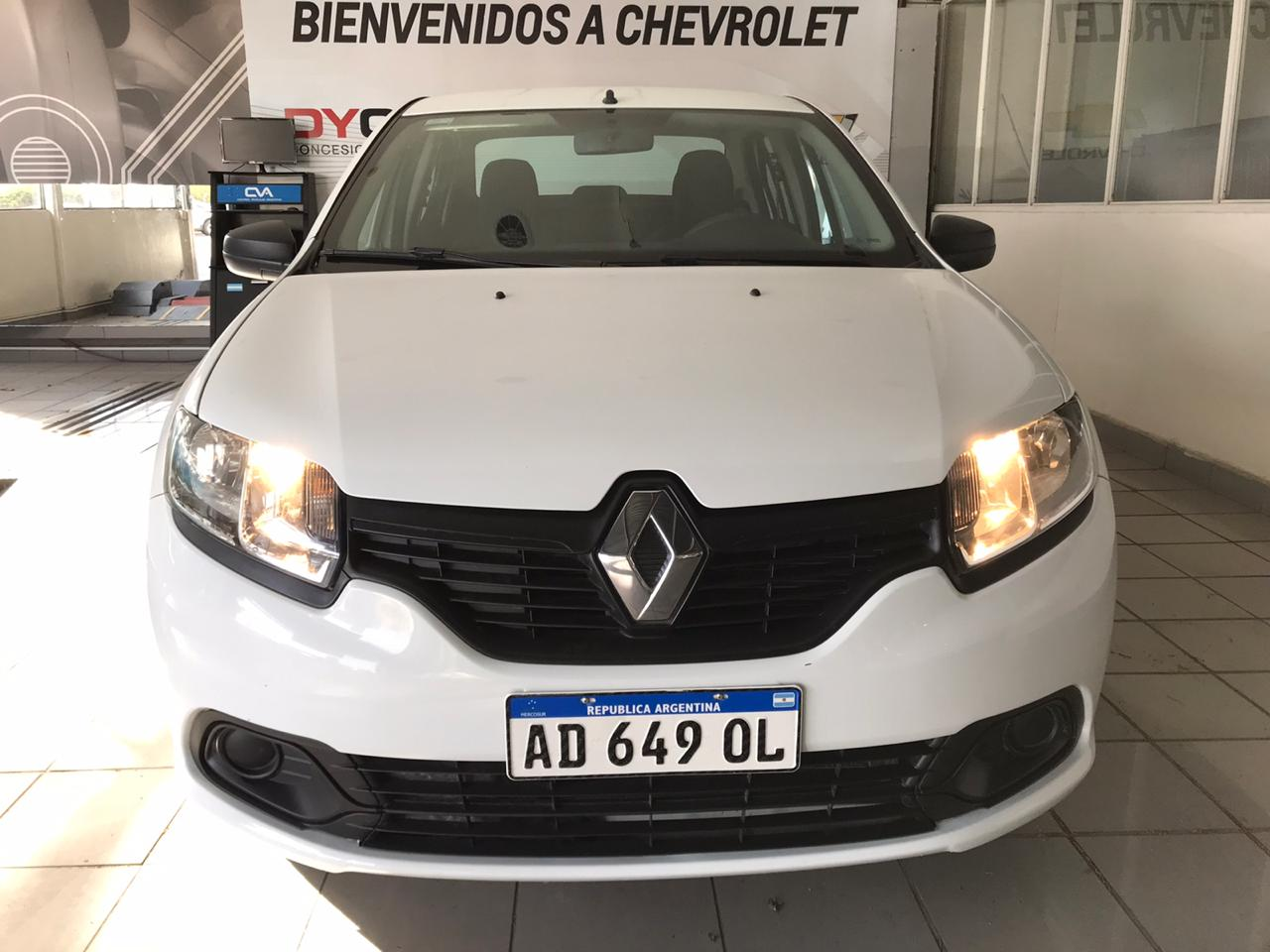 2019 RENAULT LOGAN AUTHENTIQUE 1,6L
