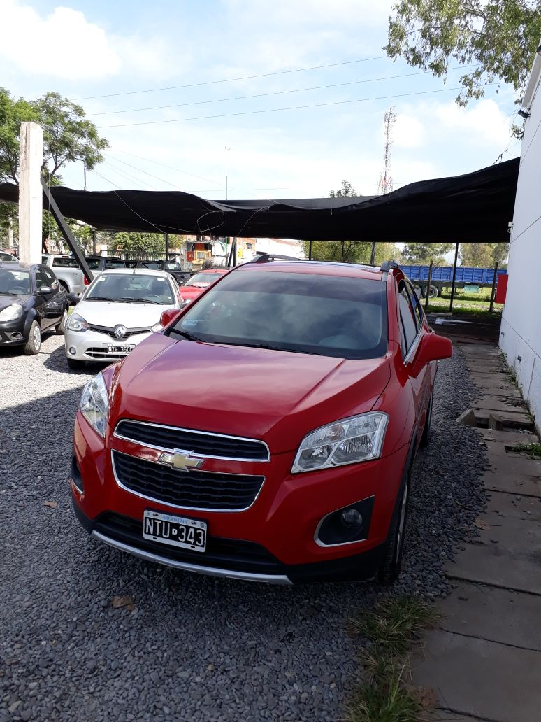2014 CHEVROLET TRACKER AWD LTZ + 1,8L