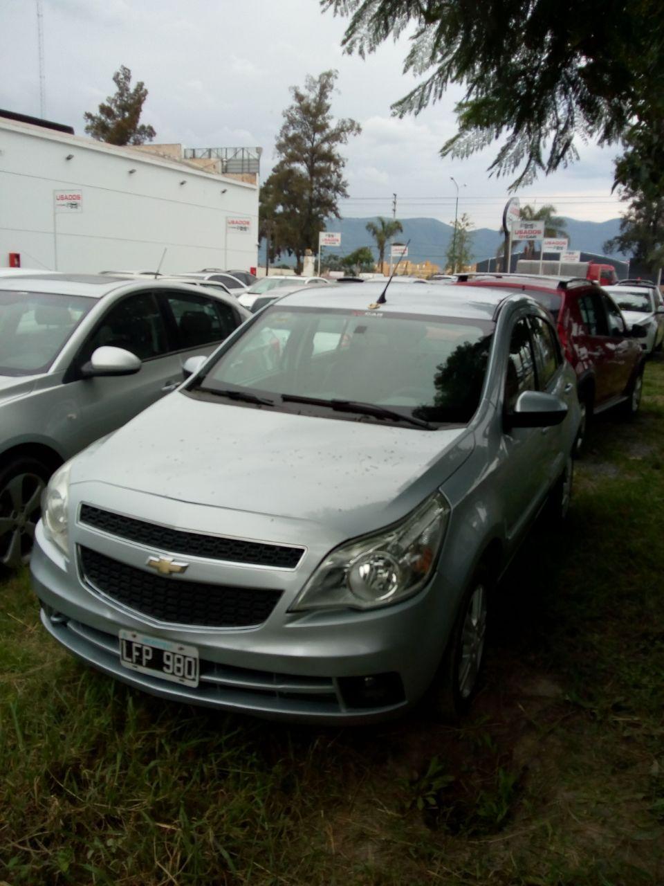 2012 CHEVROLET AGILE LTZ 1,4L