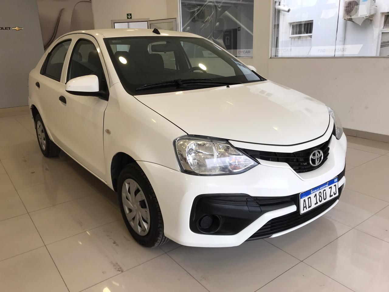 2018 TOYOTA ETIOS X 1,5L