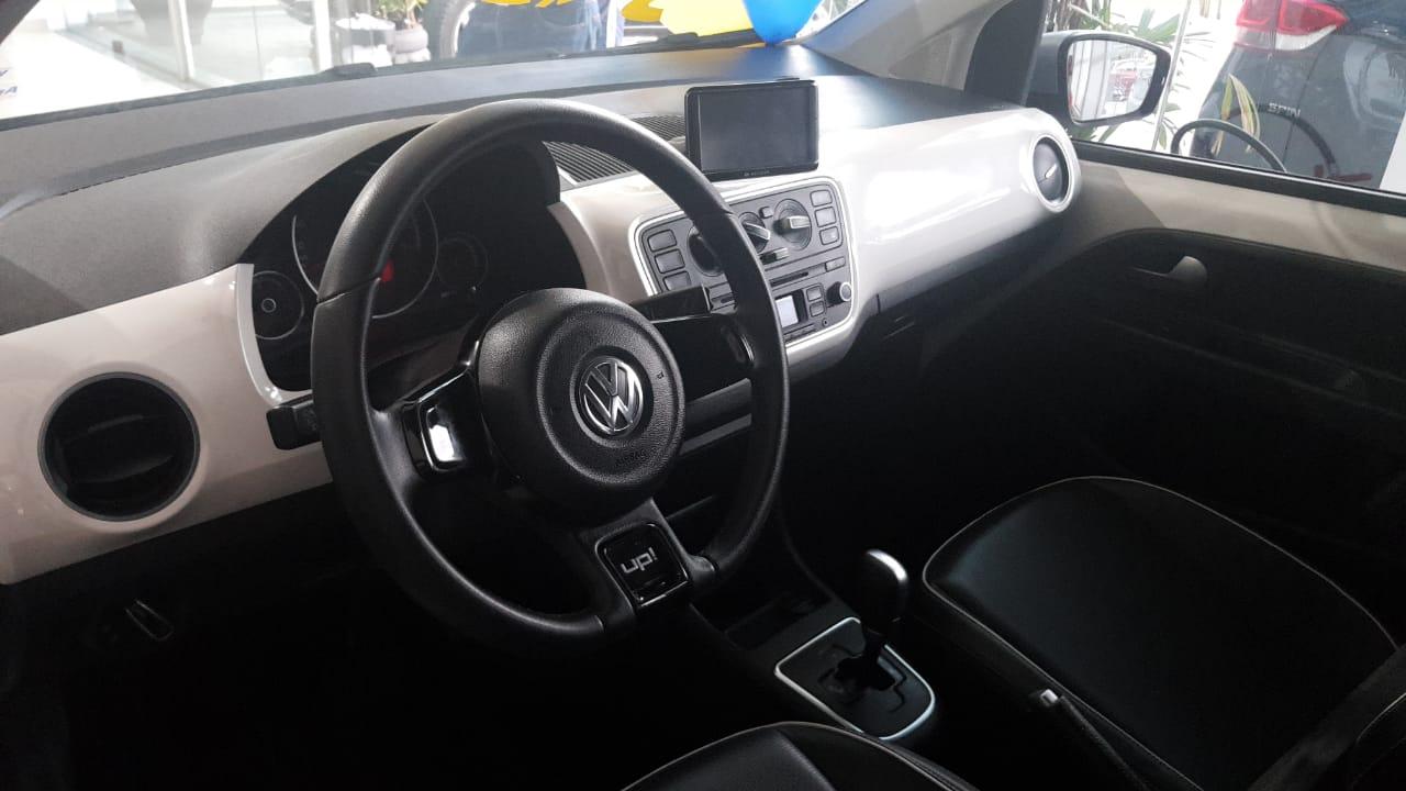 VW UP BLACK WHITE RED 1.0 2015