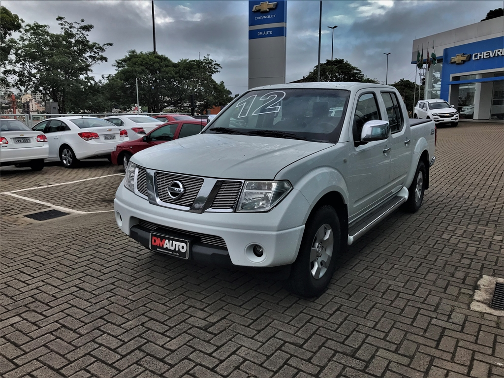 NISSAN FRONTIER LE 2.5 X4 COMPLETO 2.5 2012