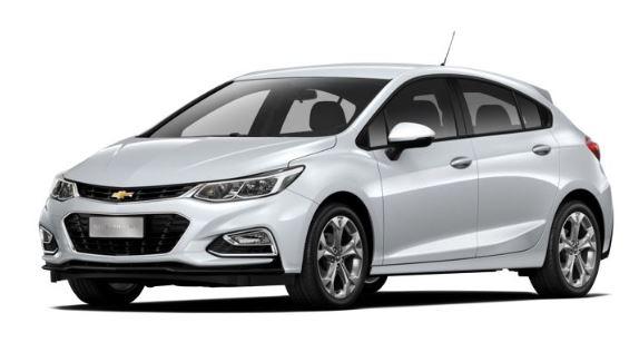 Chevrolet I/CHEV CRUZE LT HB COMPLETO 1.4 T 2018