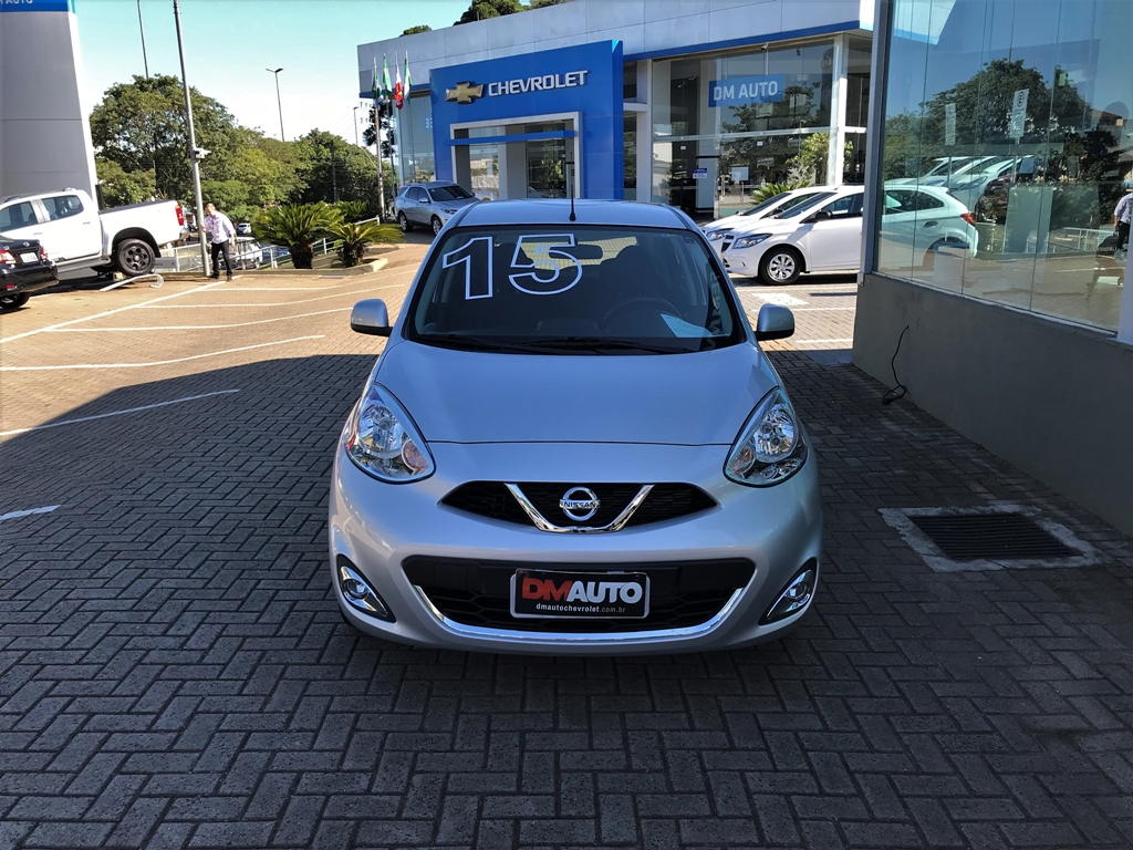 NISSAN MARCH 1.0 SV COMPLETO 1.0 2015