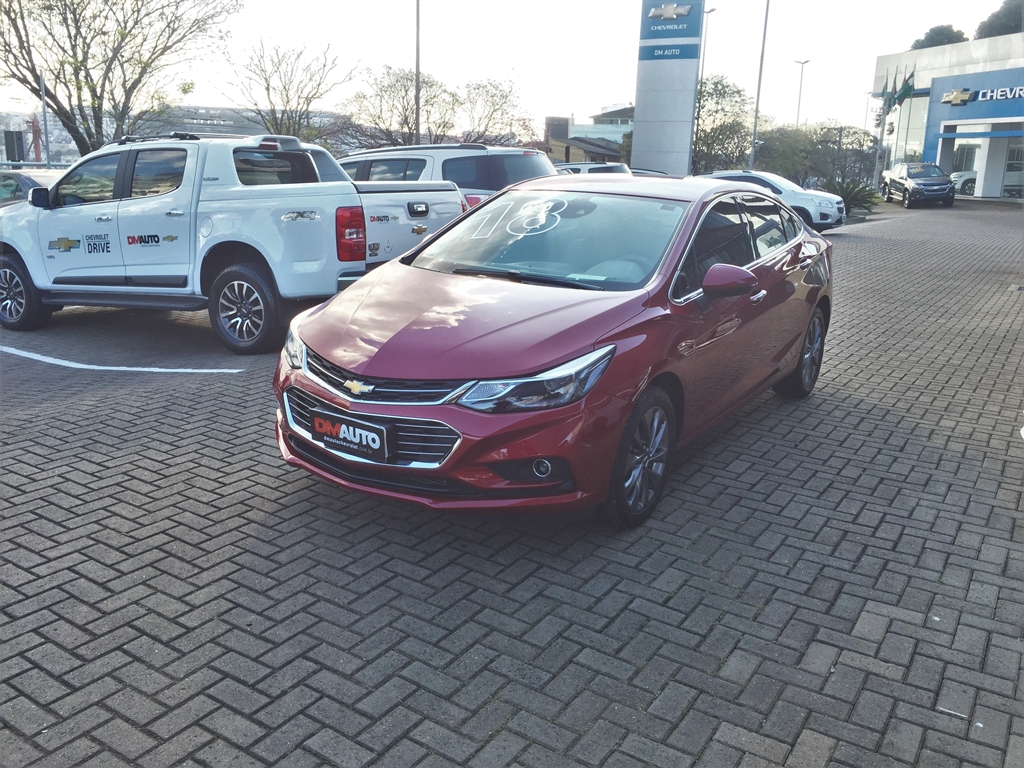 Chevrolet CRUZE LTZ NB AT COMPLETO 1.4 2018