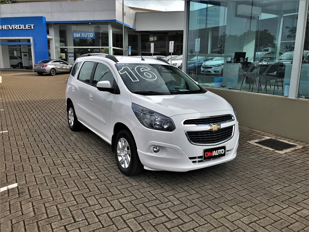 CHEVROLET SPIN 1.8L AT LTZ COMPLETO 1.8 2016