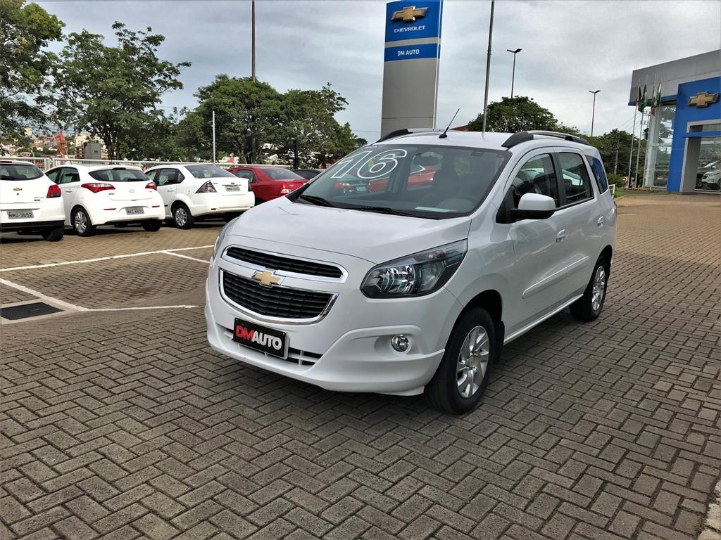 Chevrolet SPIN 1.8L AT LTZ COMPLETO 1.8 2016