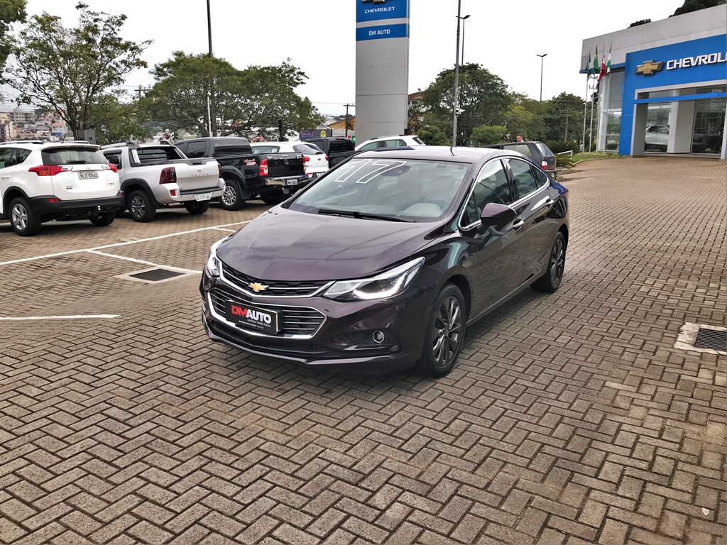 Chevrolet CRUZE LTZ NB AT COMPLETO 1.4 T 2017