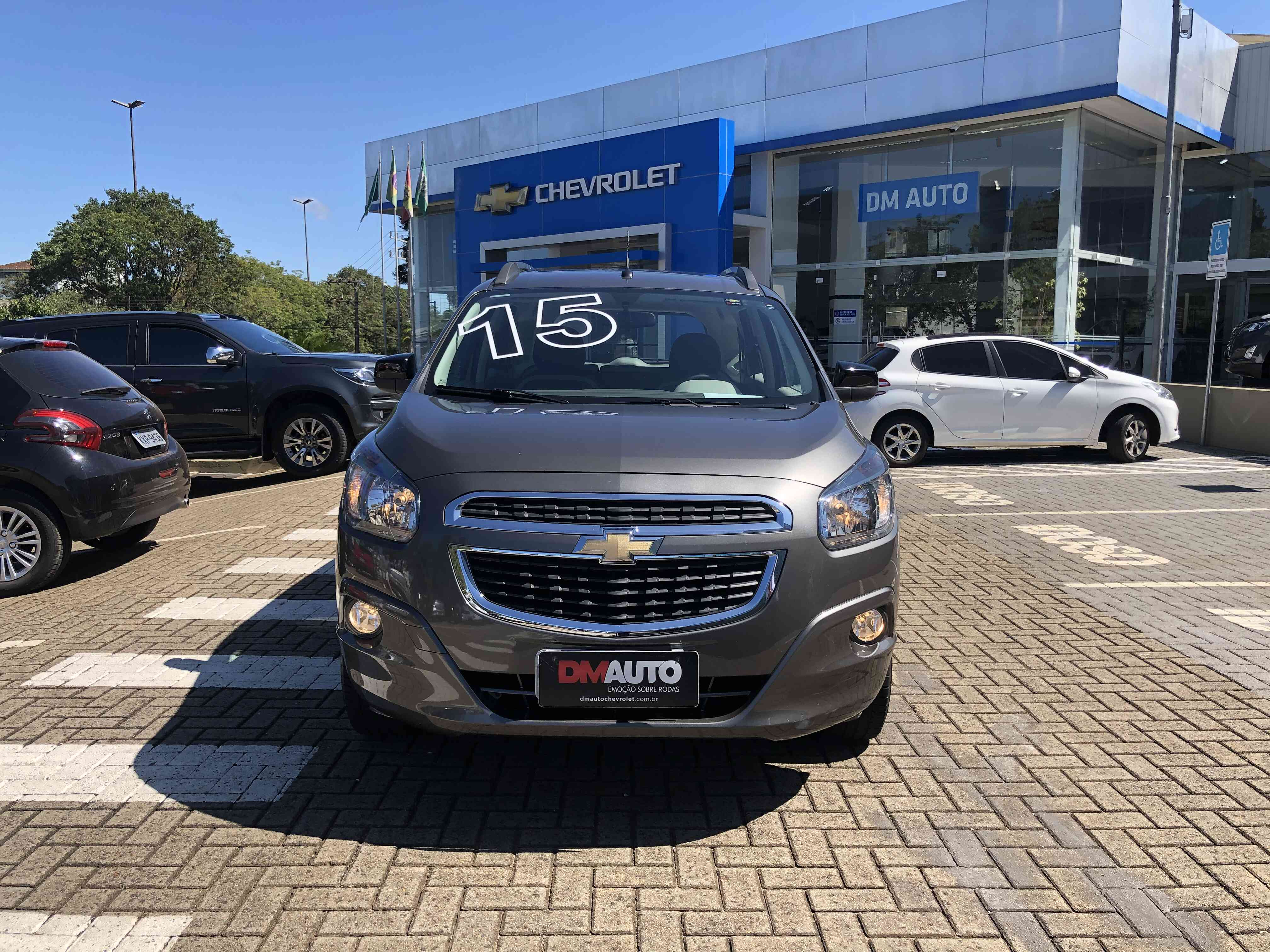 CHEVROLET SPIN 1.8L AT LT ADV SEMINOVO 1.8 2015