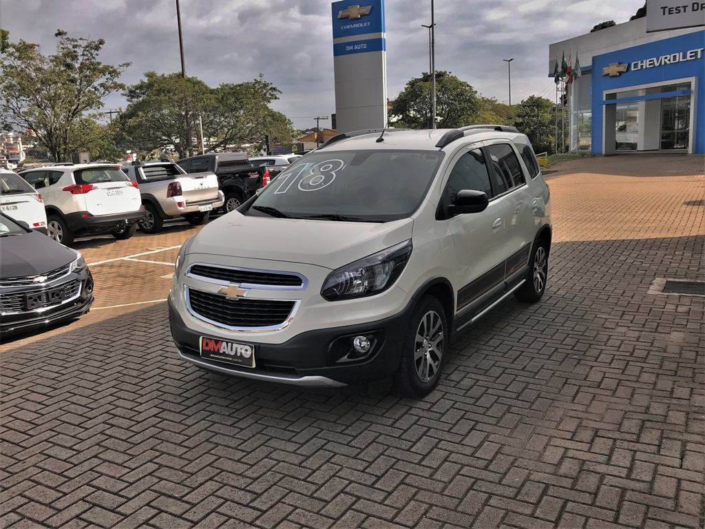 Chevrolet SPIN 1.8 AT ACT COMPLETO 1.8 2018