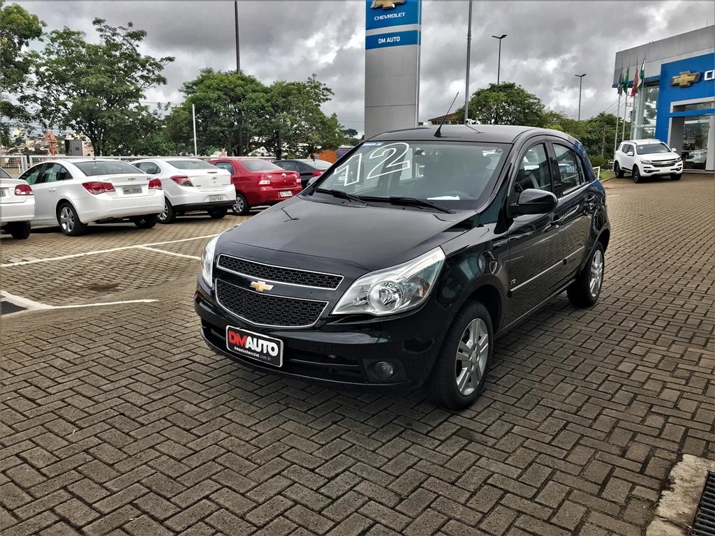 Chevrolet AGILE LTZ COMPLETO 1.4 2012