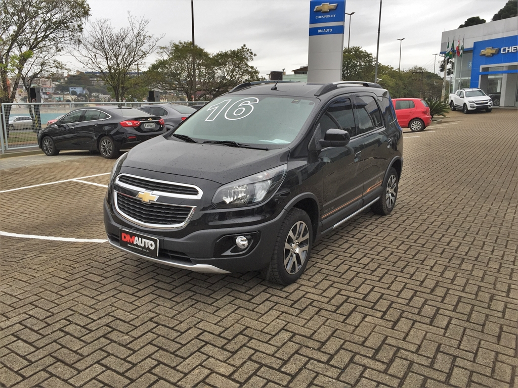 Chevrolet SPIN 1.8L AT ACT COMPLETO 1.8 2016