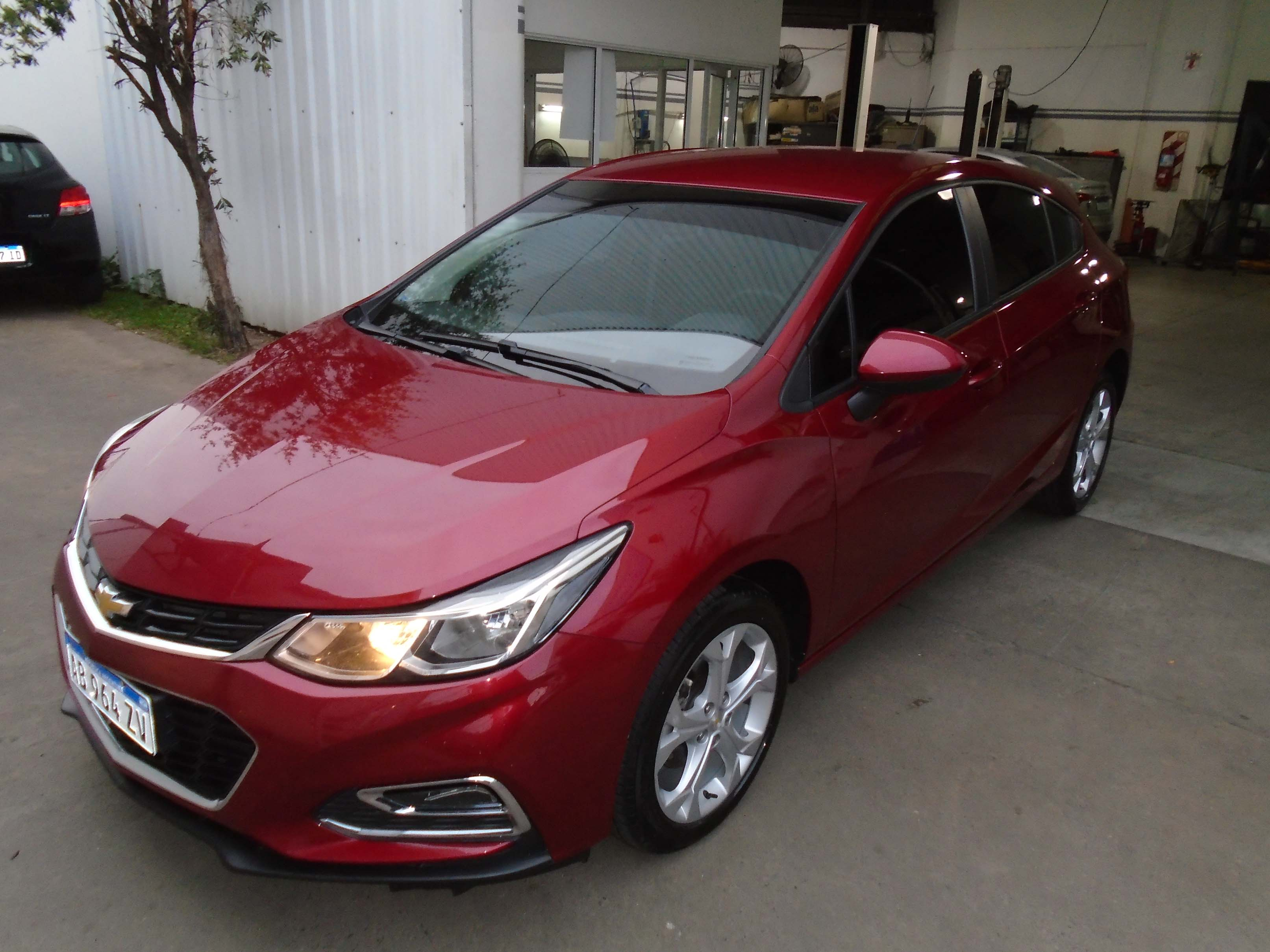 2017 CHEVROLET CRUZE TURBO LT 1,4
