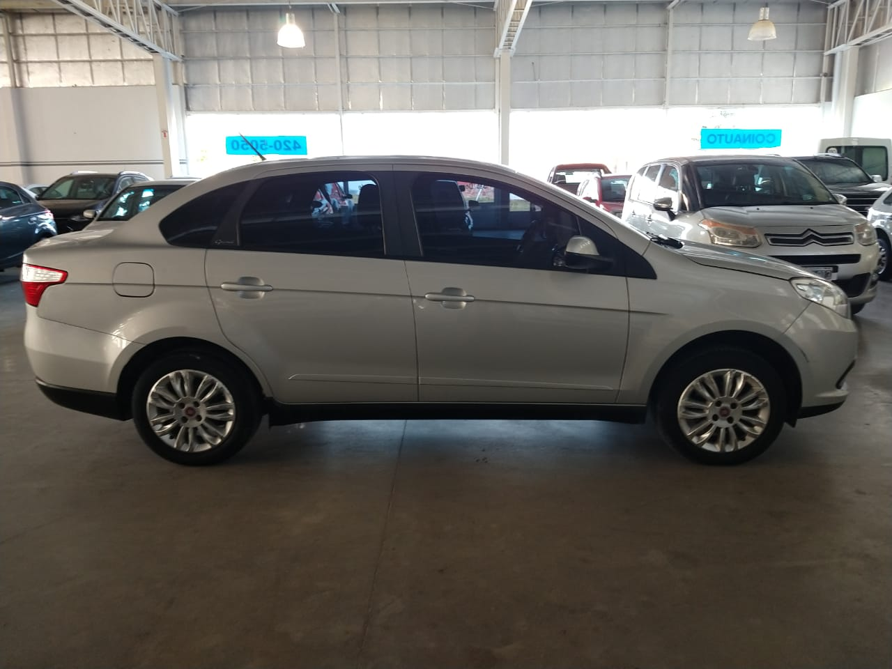 2016 FIAT GRAND SIENA ATTRACTIVE 1,4