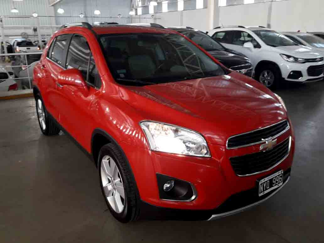2014 CHEVROLET TRACKER AWD LTZ PLUS 1,8