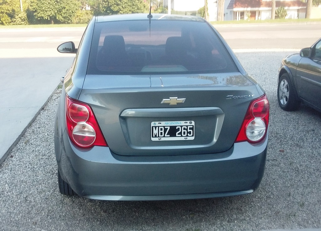 2013 Chevrolet Sonic LT MT 1.6
