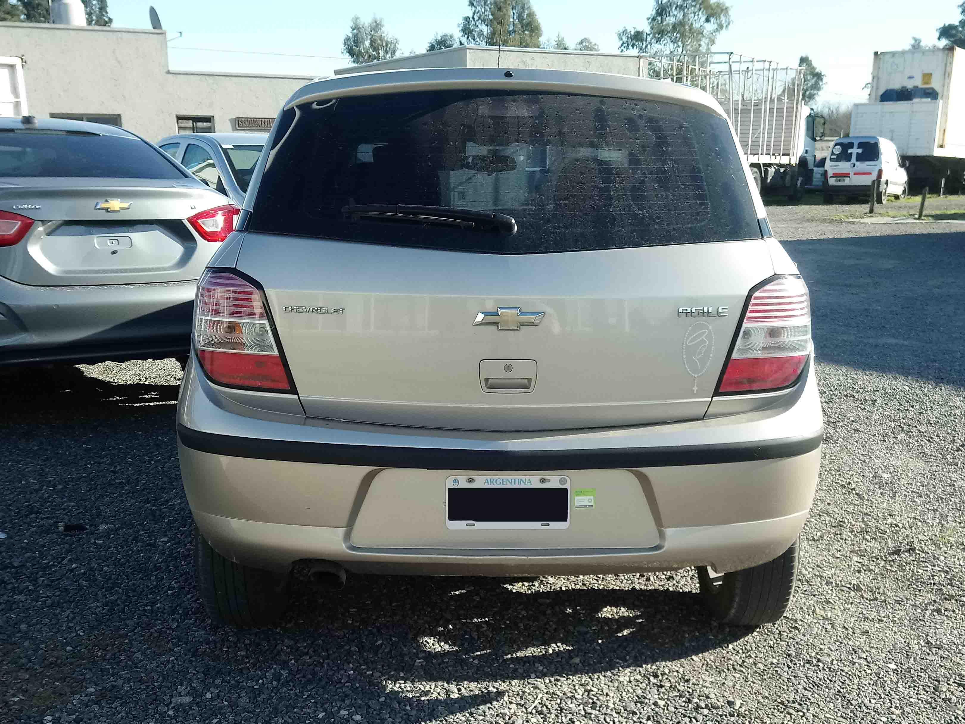 2012 Chevrolet Agile LTZ 1.4L