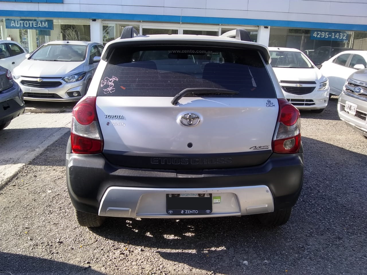 2014 Toyota Etios Cross 1.5L