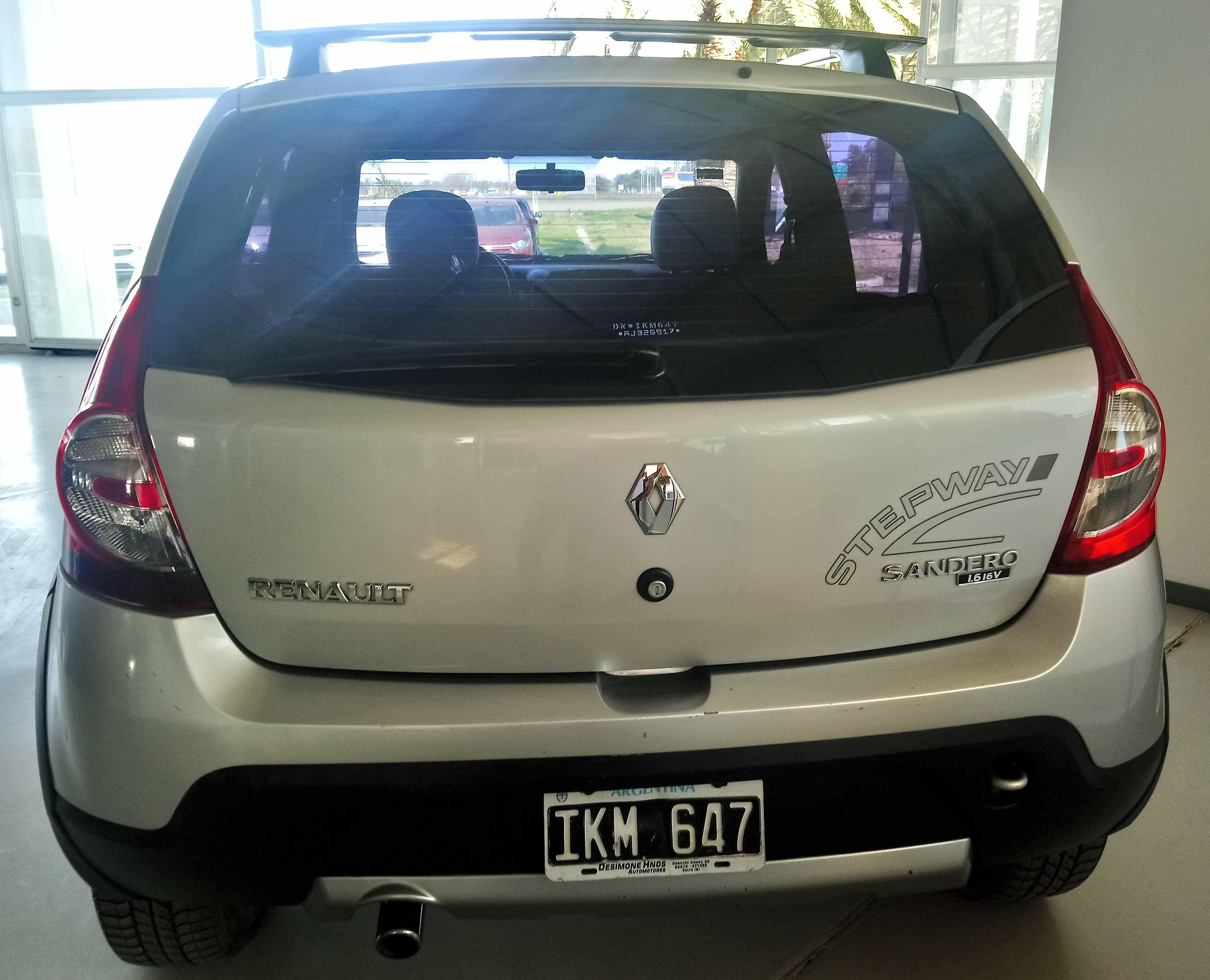 2009 Renault Sandero Stepway Confort 1.6L