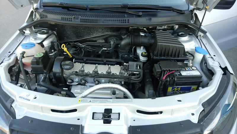 2017 Volkswagen Gol Trend PK II 1.6L