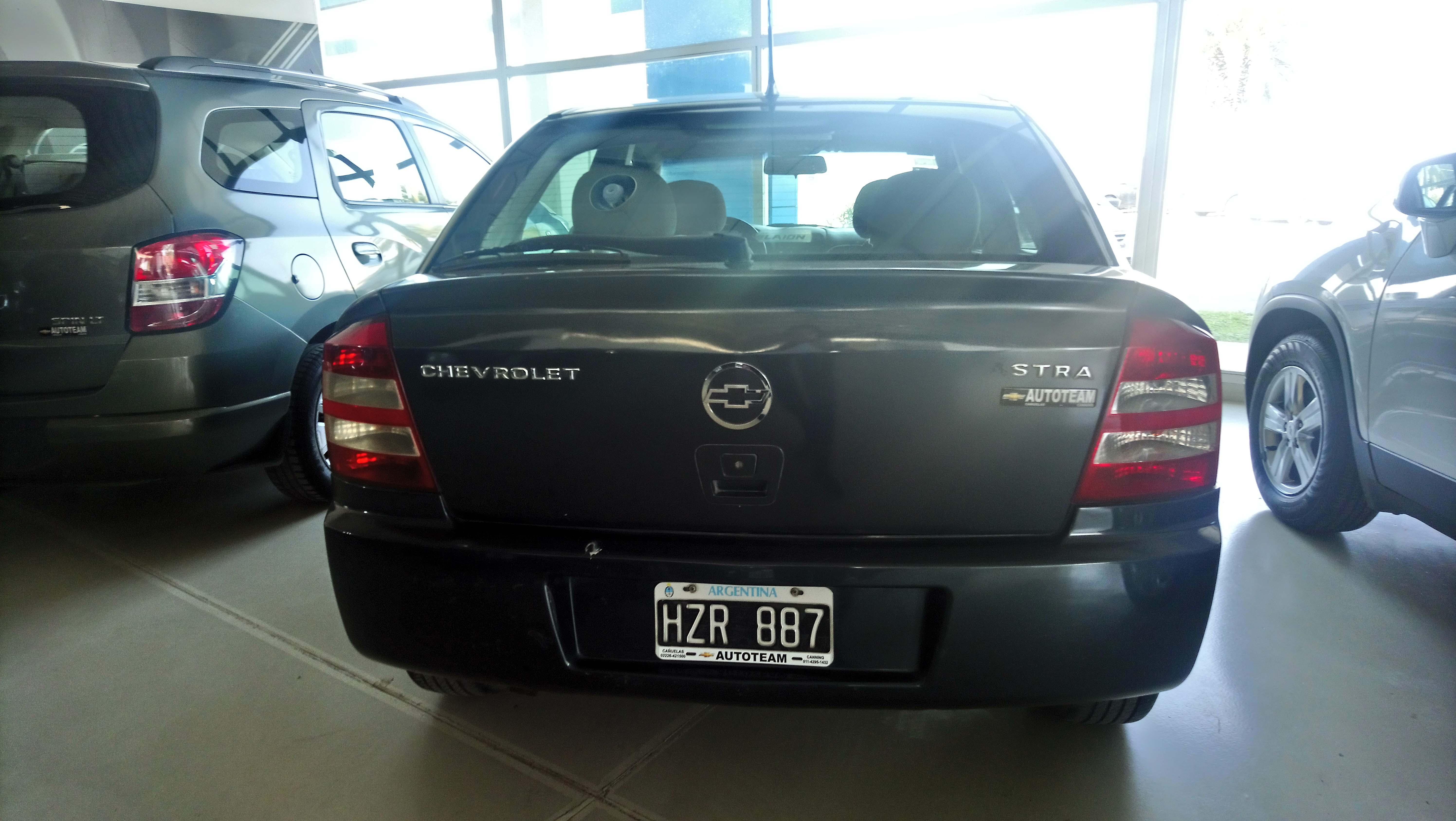 2009 Chevrolet Astra II 5 Ptas GL 2.0L