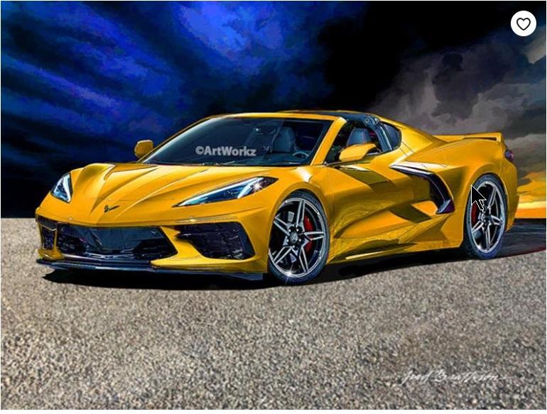 CHEVROLET CORVETTE LT 2019 Stingray V8 Turbocharged 2019