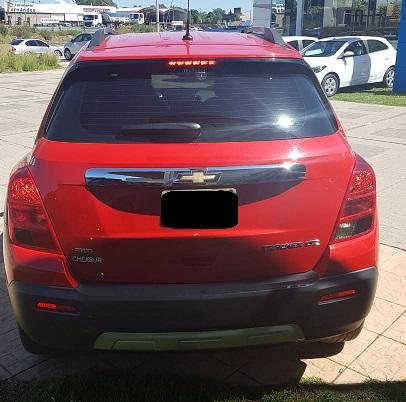 2017 Chevrolet TRACKER LTZ AD 4X4 AT 1.8