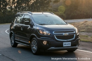 Chevrolet SPIN ACT 1.8 2018