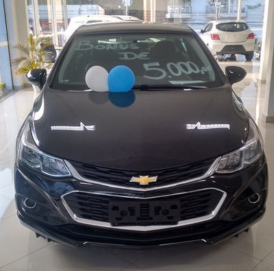 Chevrolet CRUZE LT NB AT 1.4 2018
