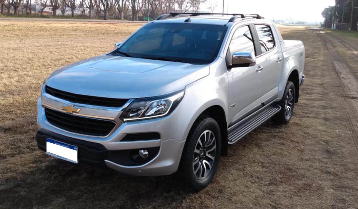 2017 CHEVROLET S10 HIGH COUNTRY 4X4 AT 2.8