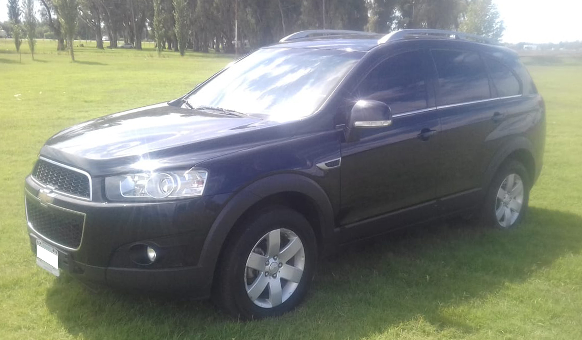 2012 CHEVROLET CAPTIVA D LT 2,2