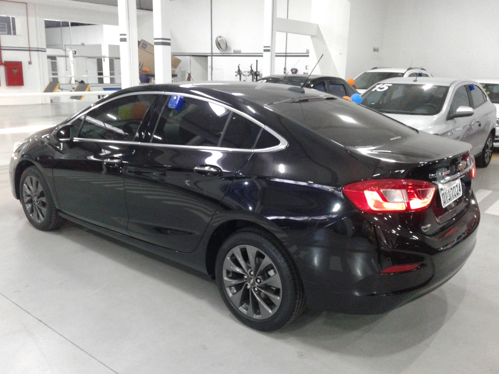 CHEVROLET CRUZE LTZ NB AT 1.4 TURBO 2017