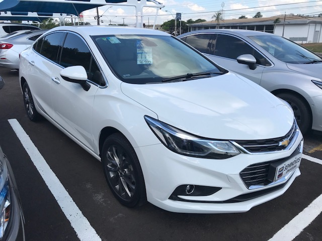 Chevrolet Cruze LTZ TURBO 1.4 2017