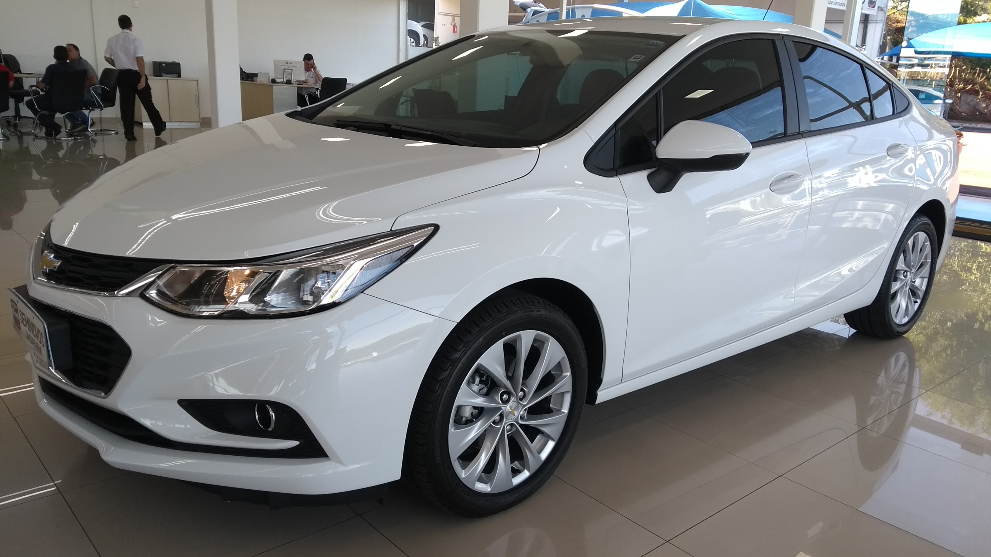 CHEVROLET CRUZE LT 1.4 TURBO 2018