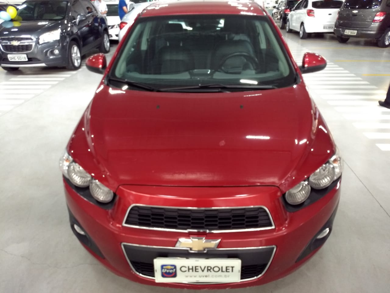 Chevrolet Sonic LTZ 1.6L 2014