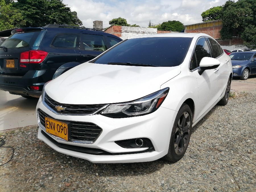 2017 CHEVROLET CRUZE LTZ TURBO AT PASAJEROS 1.4L