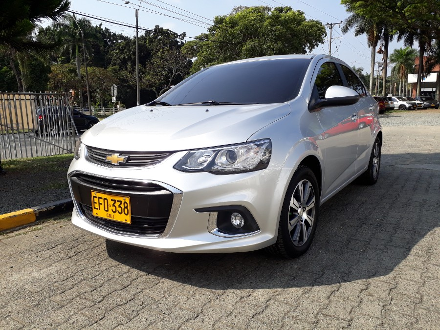 2018 CHEVROLET SONIC 4NB AT LT PASAJEROS 1.6L