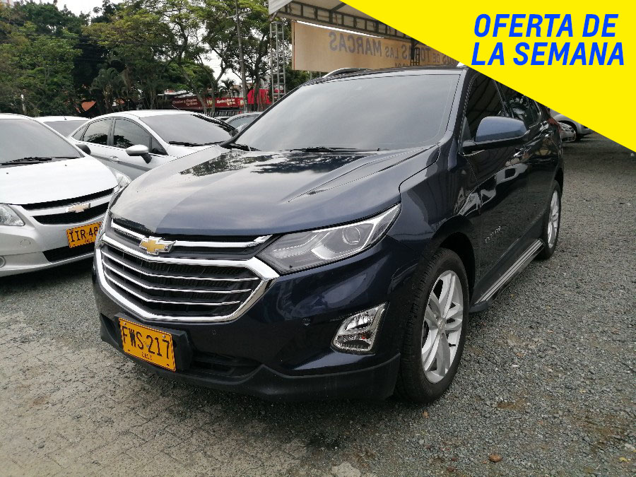 2019 CHEVROLET EQUINOX PREMIER AT PASAJEROS 1.5L TURBO