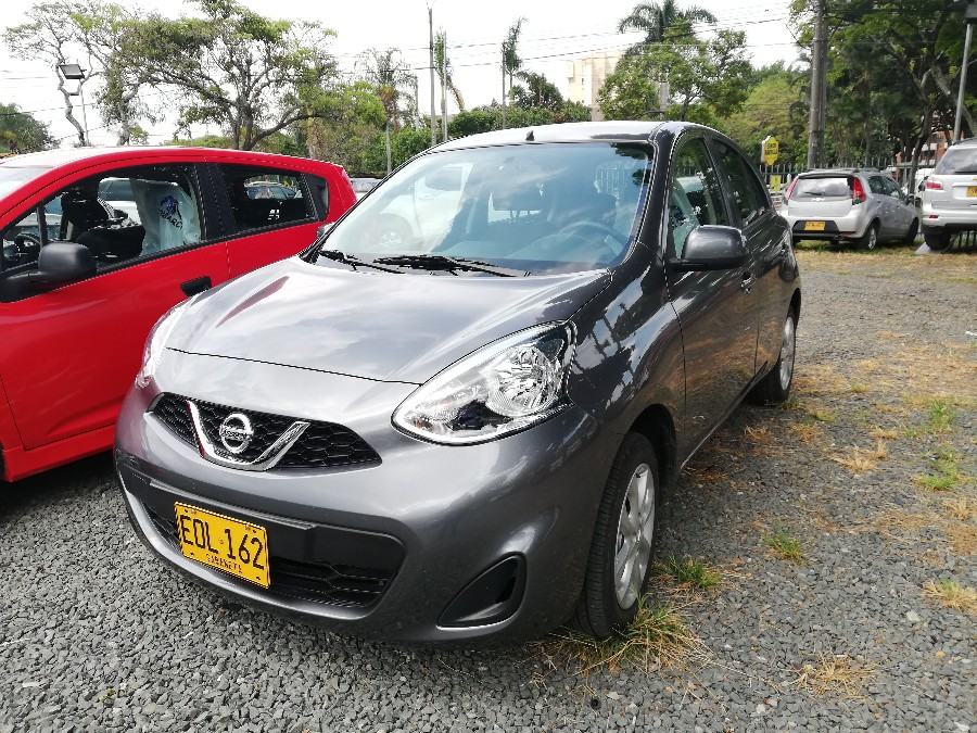 2019 NISSAN MARCH PASAJEROS 1.6L