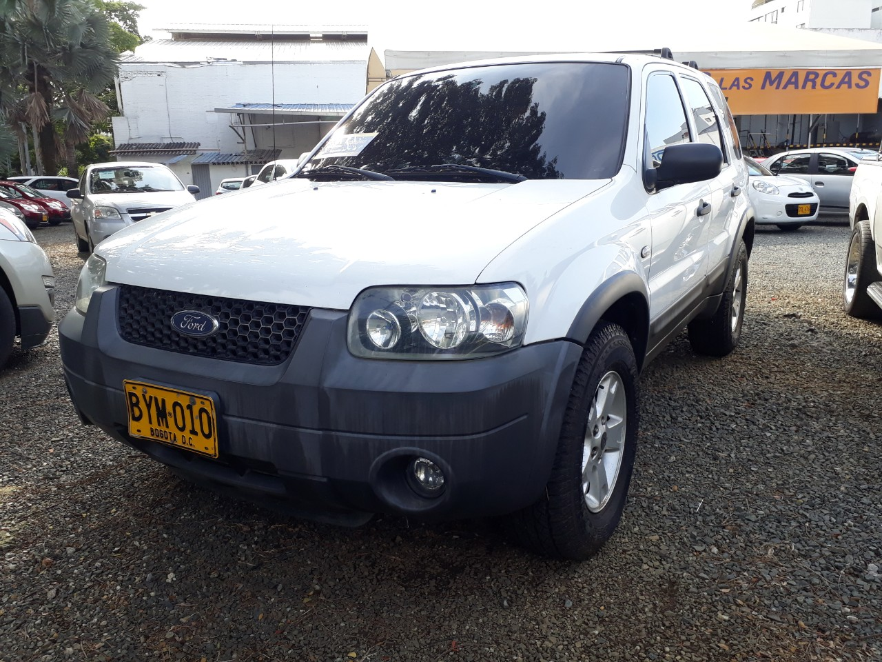 2007 FORD ESCAPE 4X4 MOTOR 3.0L
