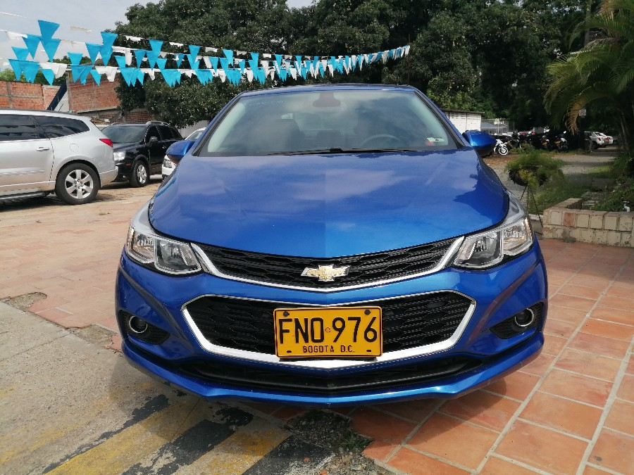 2017 CHEVROLET CRUZE LT TURBO AT PASAJEROS 1.4L