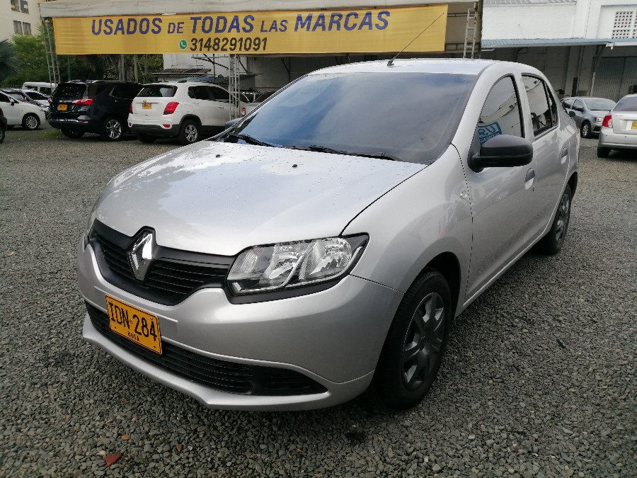 2017 RENAULT LOGAN AUTHENTIQUE PASAJEROS 1.6L