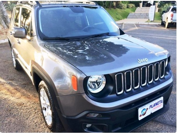 JEEP RENEGADE LNGTD AT 1.8 2016