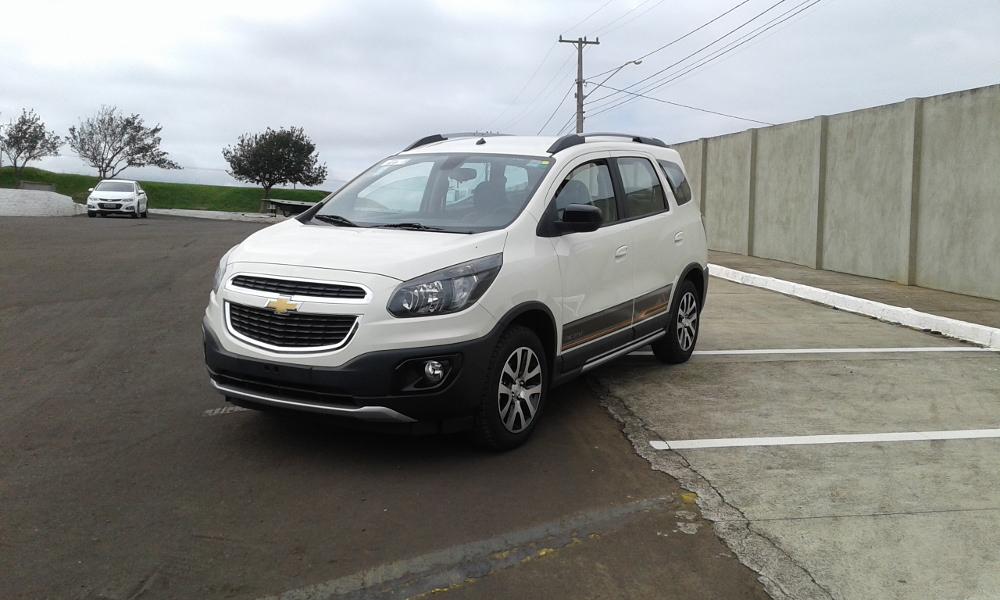 Chevrolet SPIN ACTIV 1.8L 2018