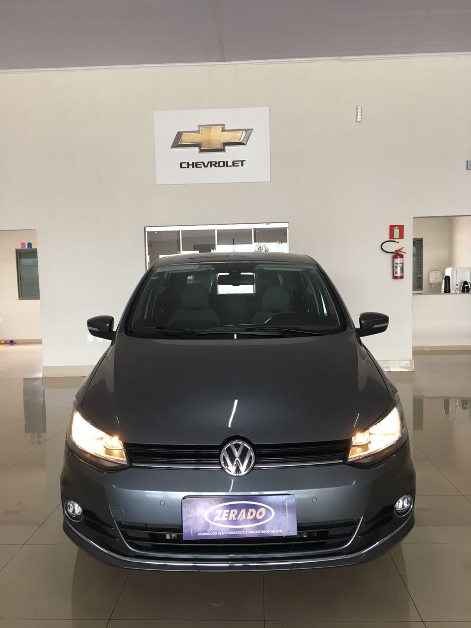 VW FOX HIGHLINE 1.6 2015