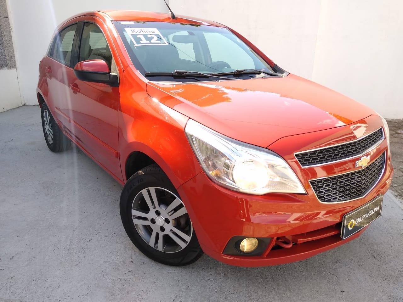 Chevrolet Agile LTZ 1.4 2012