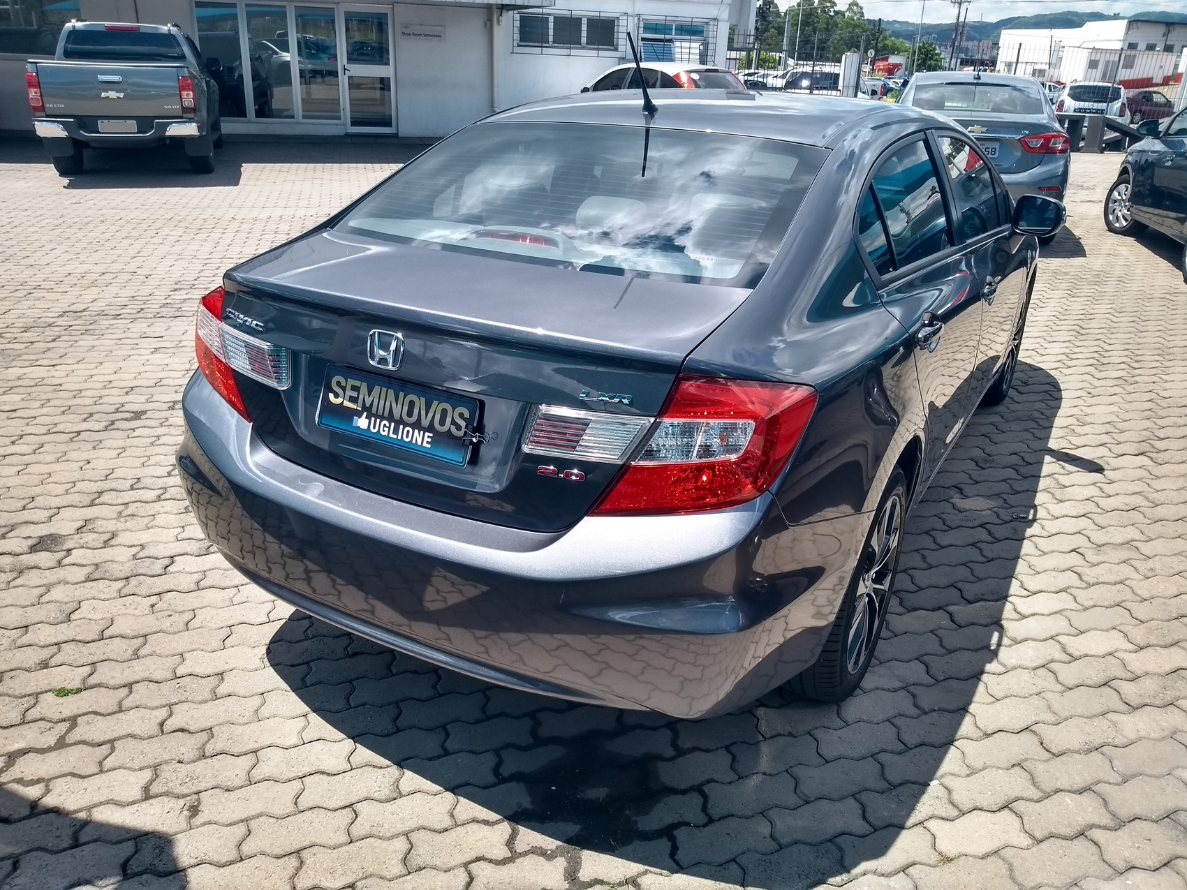 HONDA CIVIC LXR . 2.0 2016